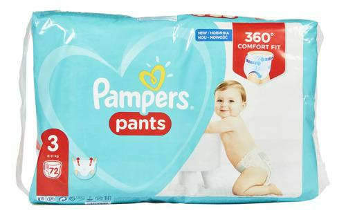 Couches-Culottes Baby Dry taille 3