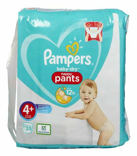 Couches-Culottes Baby Dry taille 4+